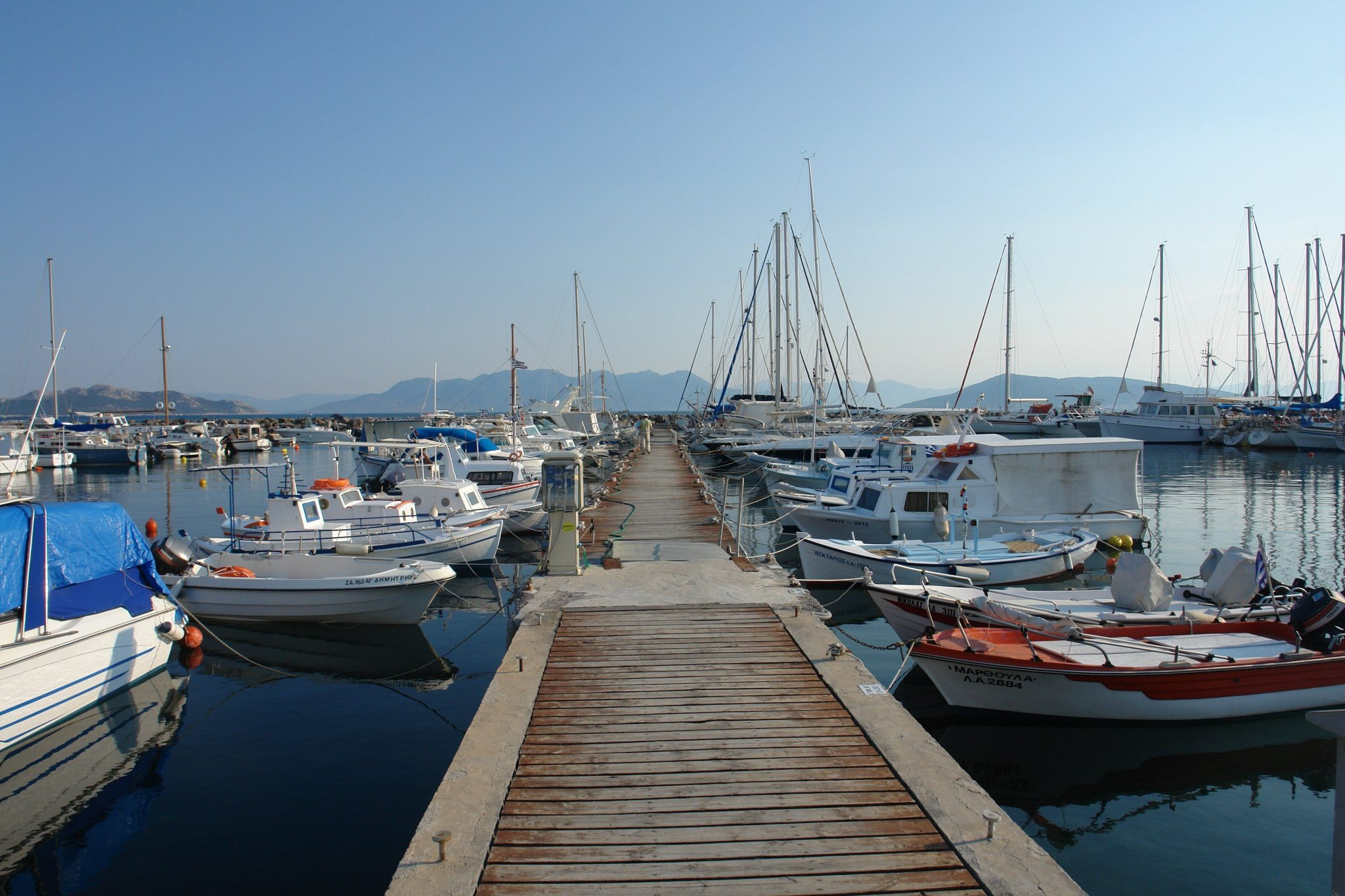port of Aegina Attica