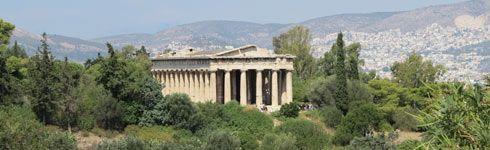 ναός του Ηφαίστου, Θησείο