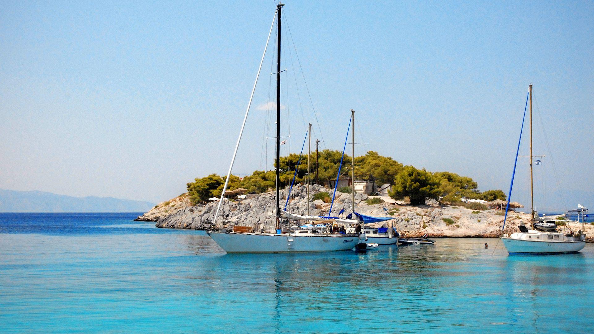 Agistri island Athens
