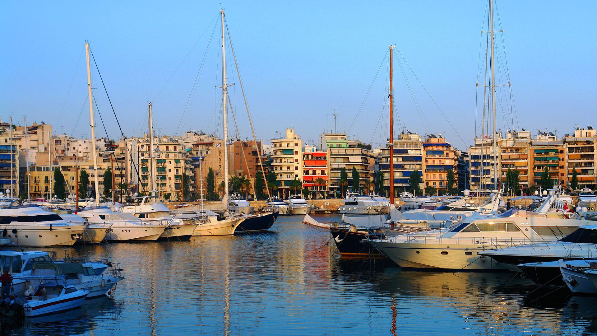 Piraeus Athens pier