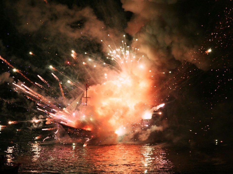 Armata Festival Spetses re-enactment