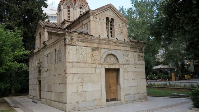 Panagia Grigoroussa Taxiarchon Athens
