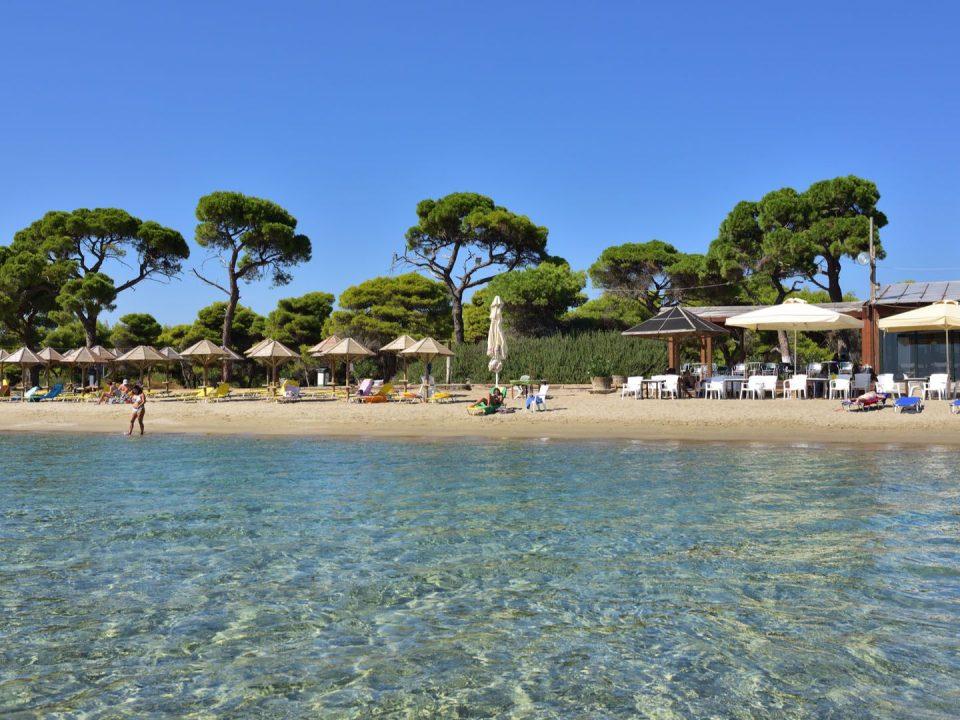 Παραλία Σχοινιά Μαραθώνας παραλία