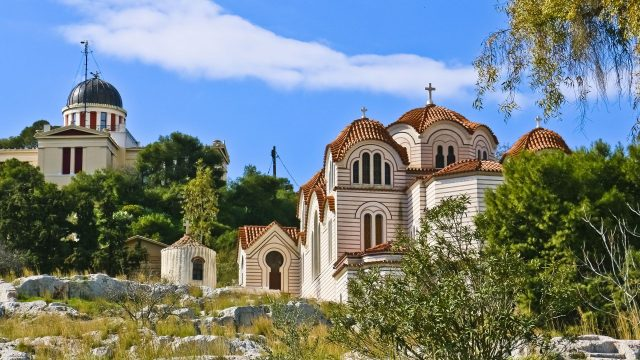 Saint Marina Thission Church Athens