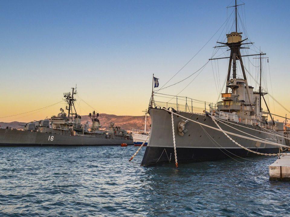 Averof battleship Marina Flisvos