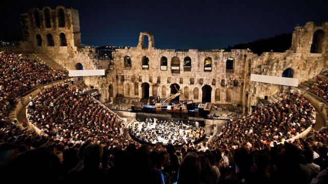 Odeon Herodes cultural events Οδείο Ηρώδειο Κοινωνικές εκδηλώσεις