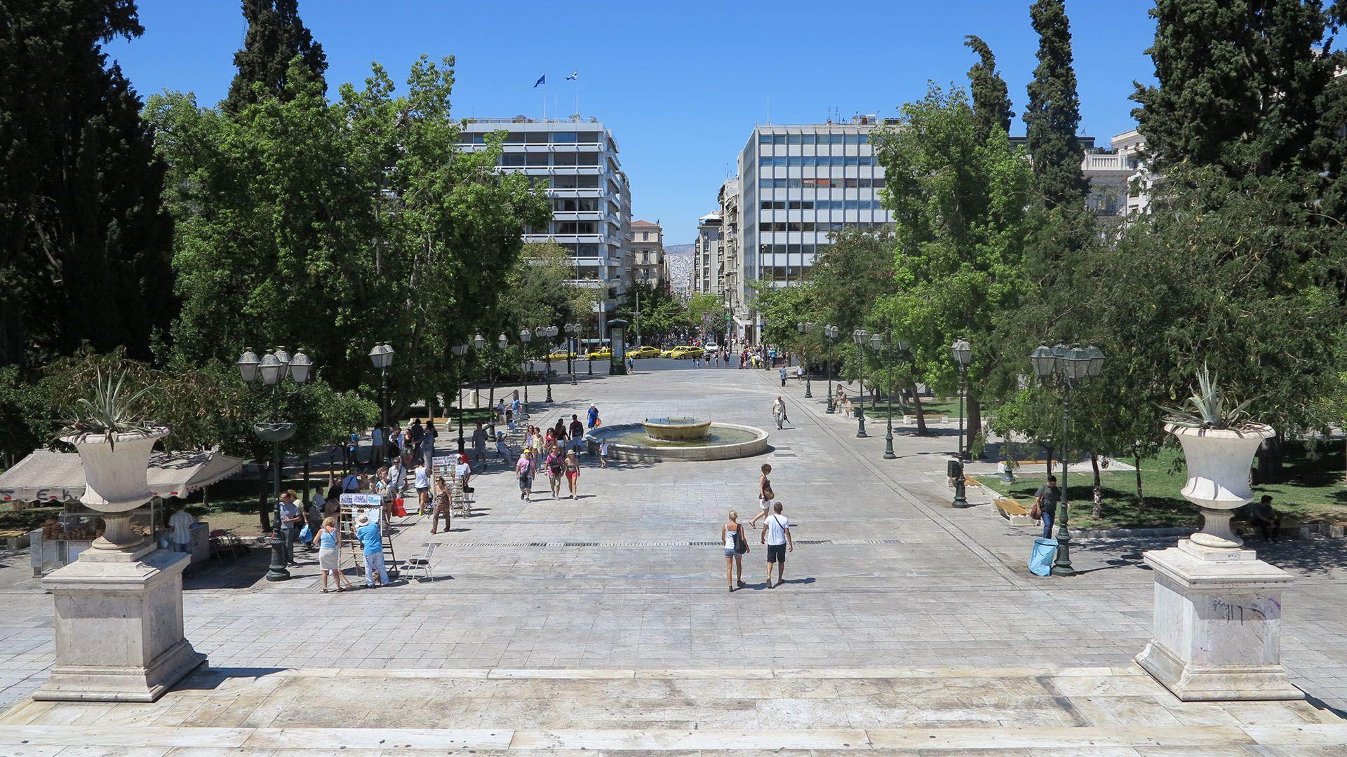Square Syntagma Athens Πλατεία Σύνταγμα Αθήνα