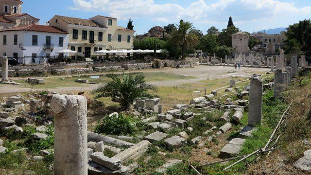Roman Forum Plaka Monastiraki Ρωμαϊκή
