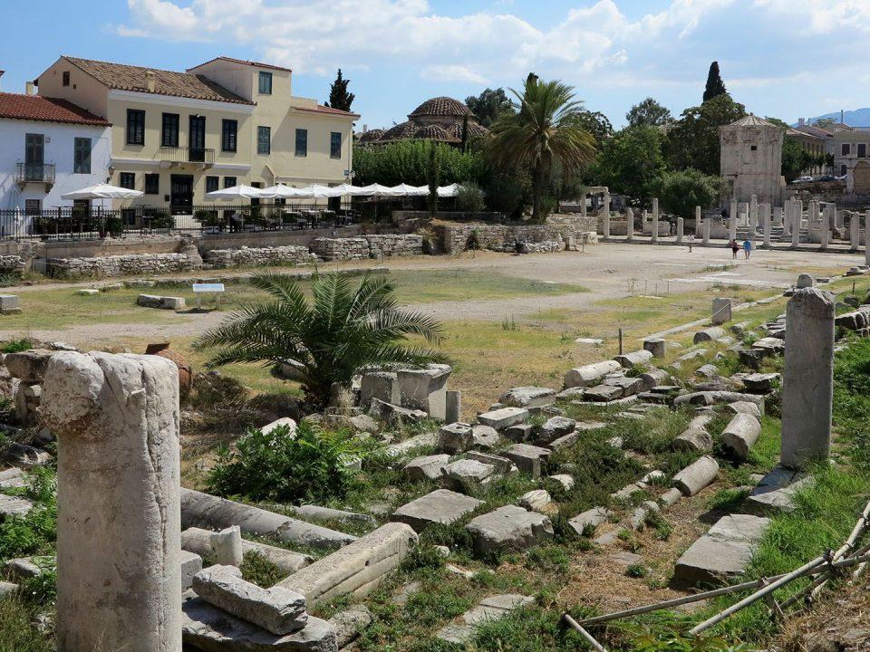 Ρωμαϊκή Αγορά Πλάκα Μοναστηράκι