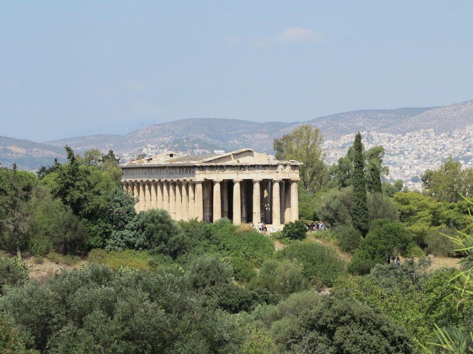 Ήφαιστος αρχαία αγορά Αττική Hephaestus ancient market Attica