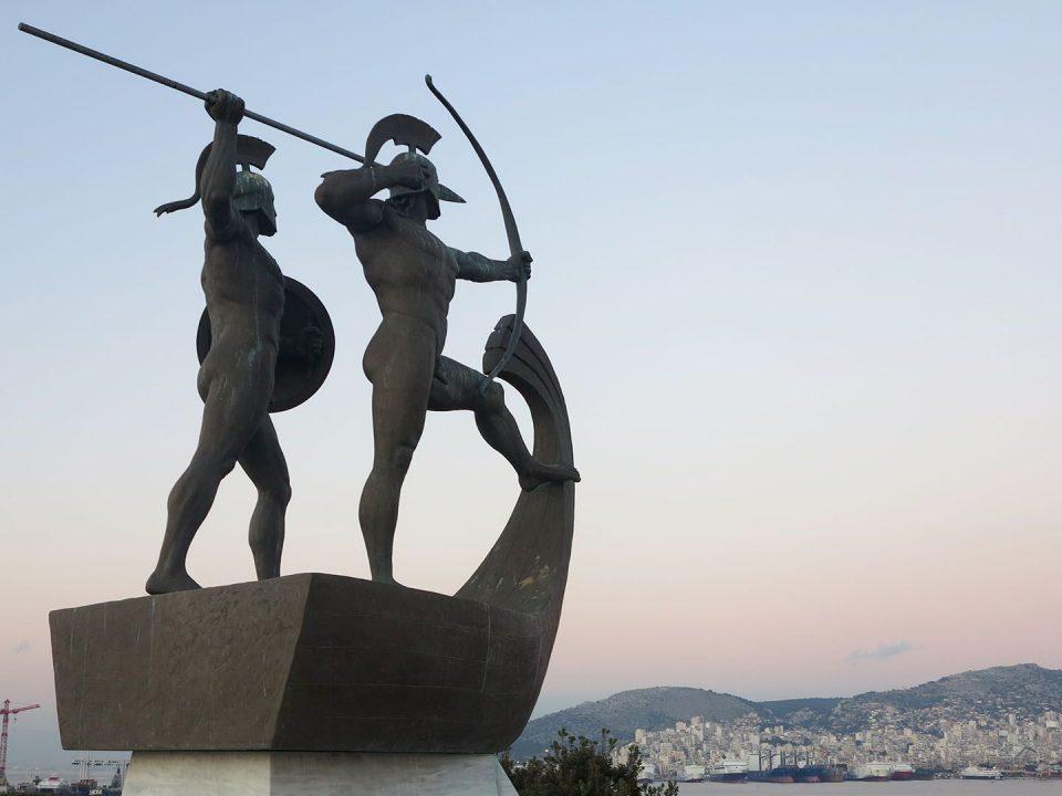 Salamina fighters tomb naval battle πολεμιστές Σαλαμίνα ναυμαχία τύμβος