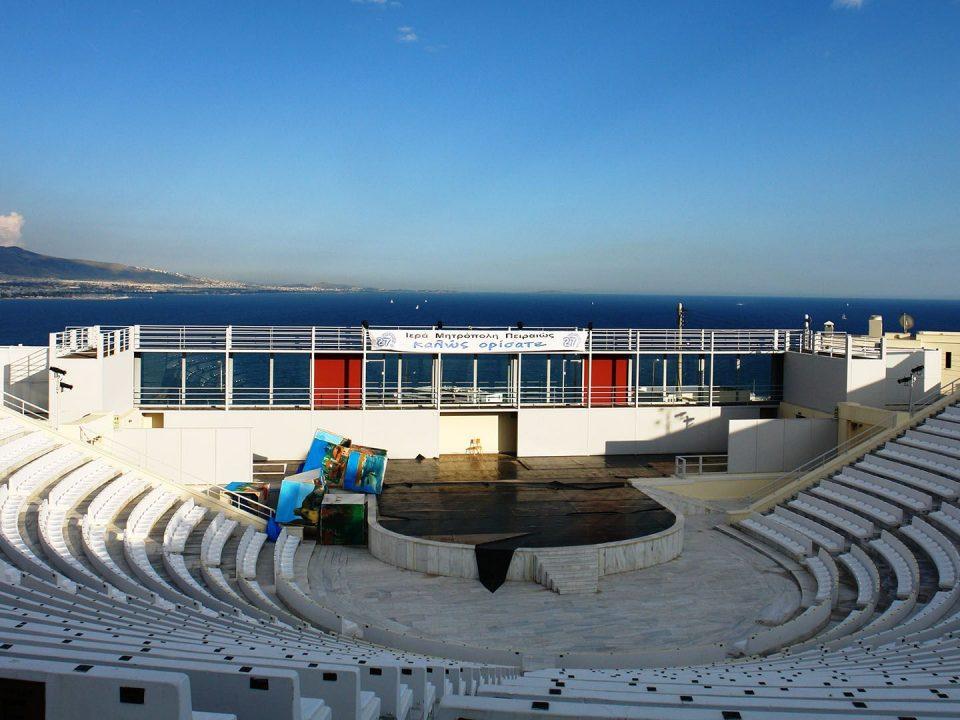 Veakeion theatre Piraeus Βεάκειο Δημοτικό Θέατρο Πειραιάς