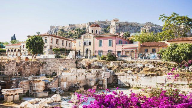 Plaka, Acropolis, Athens, Attica