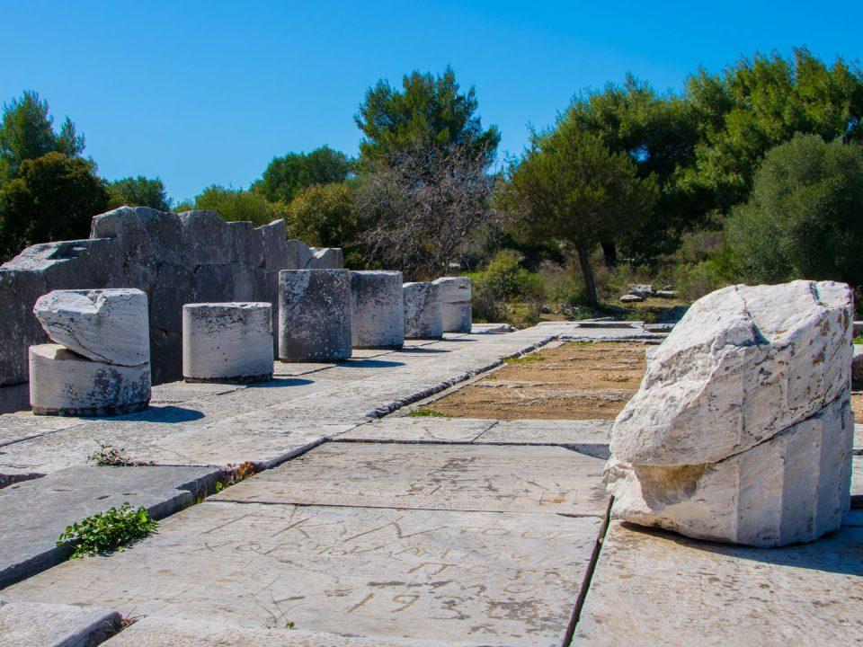 Αρχαιολογικός Χώρος Ραμνούντας, Αττική, Μαραθώνας