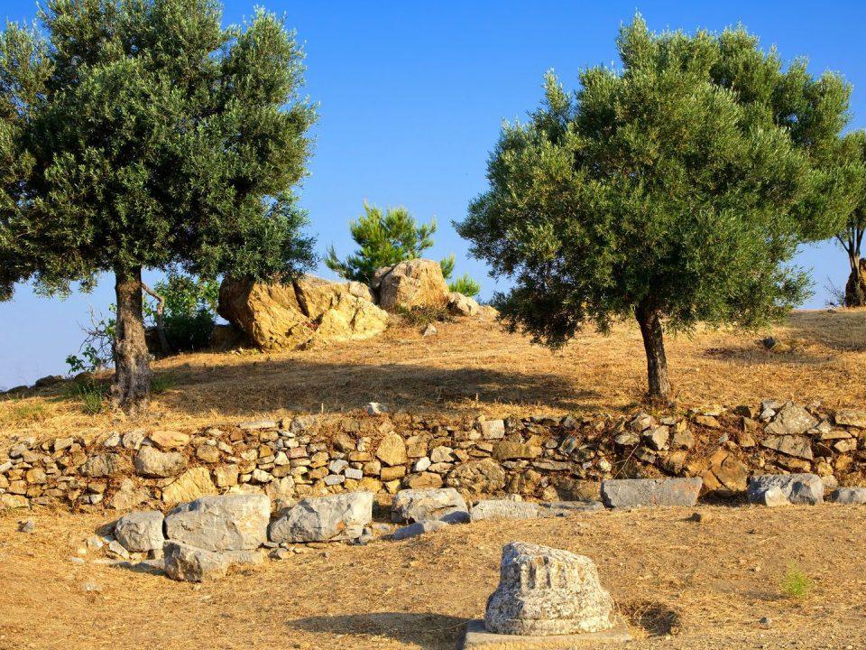 Ιερό του Ποσειδώνα, Πόρος, Αττική, Ποσειδώνας, Ναός