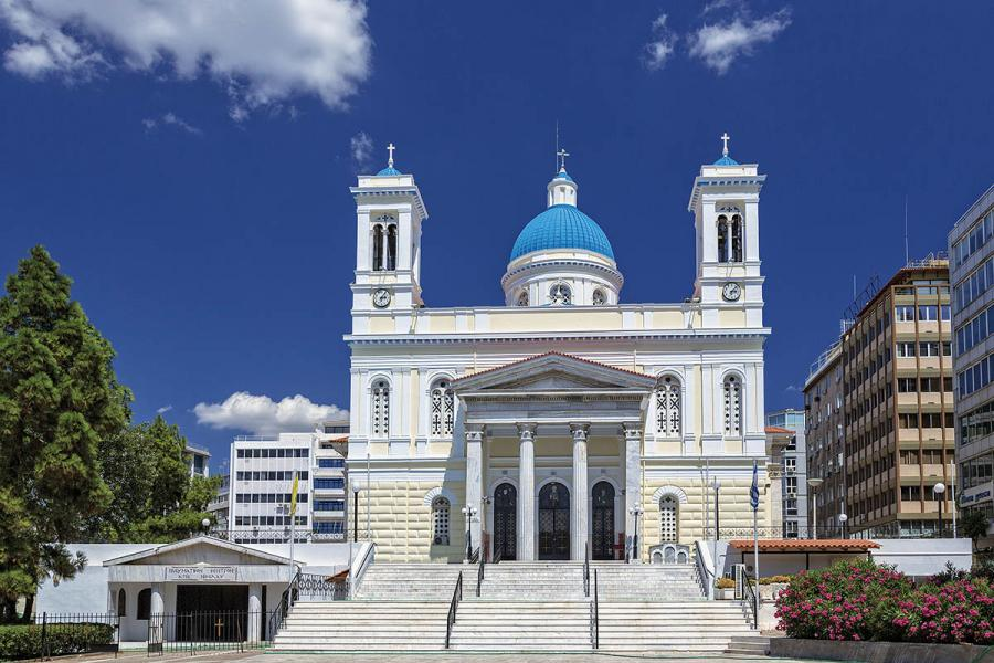 Agios Spyridonas, Church, temple, Attica, Piraeus