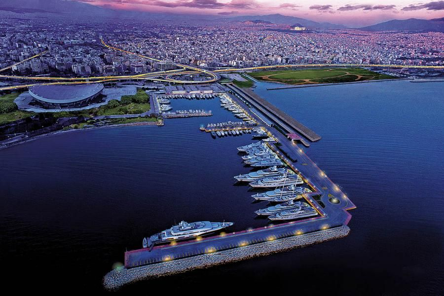 Paleo Faliro, Port, Peace and Friendship Stadium, Piraeus, Attica