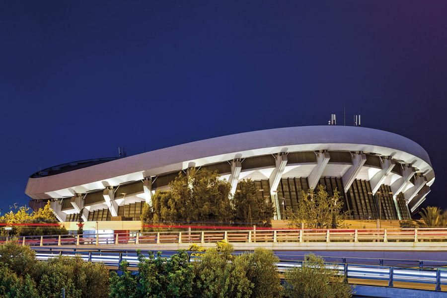 stadium, indoor stadium, Piraeus, Peace, Friendship, Attica
