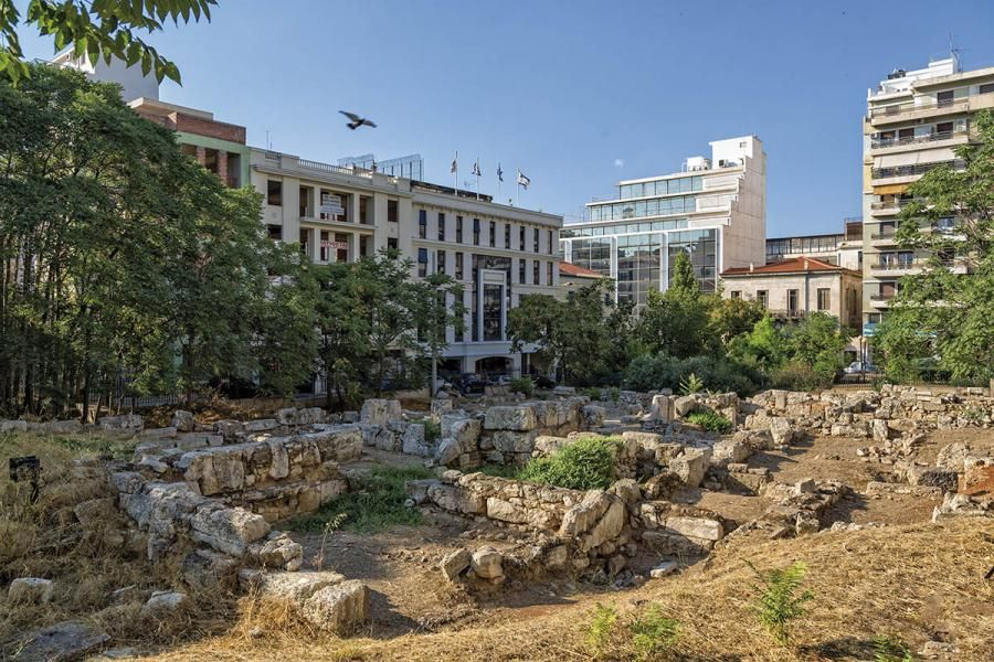The-ancient-greek-market-at-Terpsithea-Square