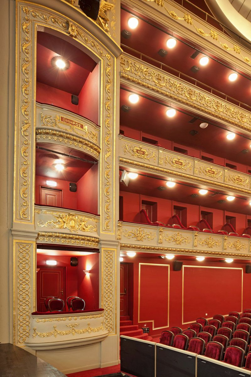 Theater, Piraeus, Attica, Municipal Theater