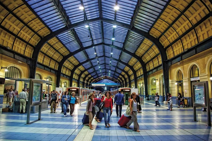 The-interior-of-the-railway-station-of-Piraeus-I