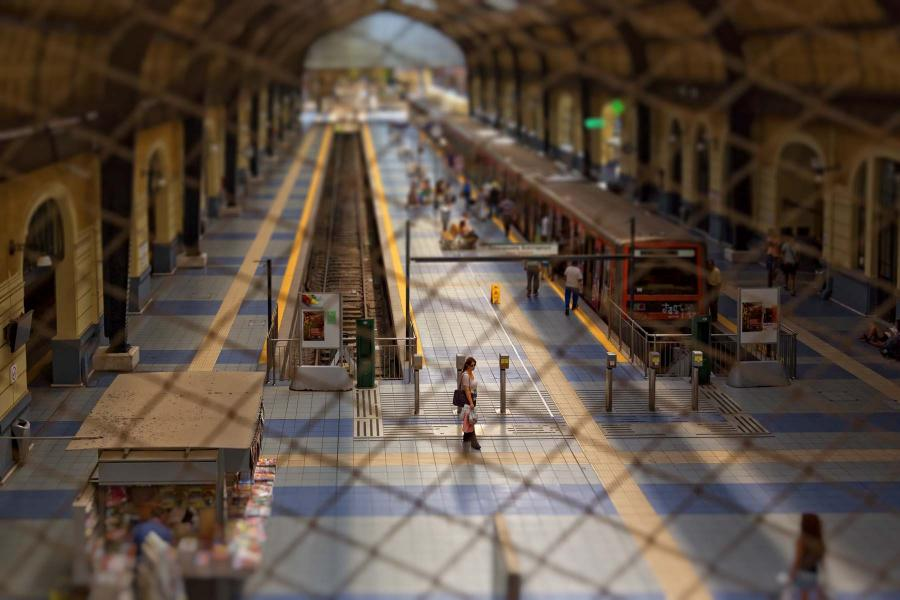 The-interior-of-the-railway-station-of-Piraeus-II