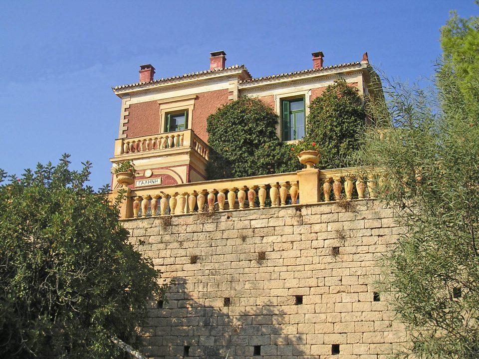 Villa, Galini, Poros, building