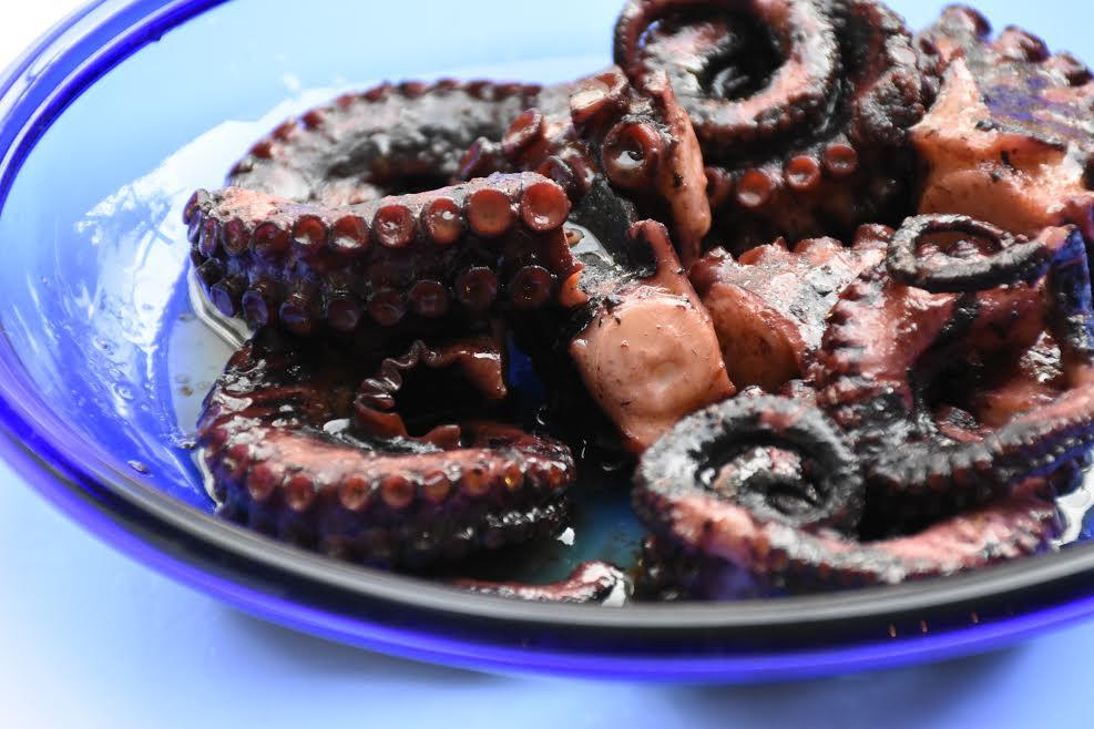 octopus gastronomy food recipe