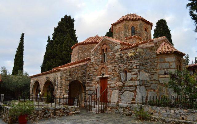 Agios, Ioannis, Kynigos, Monastery