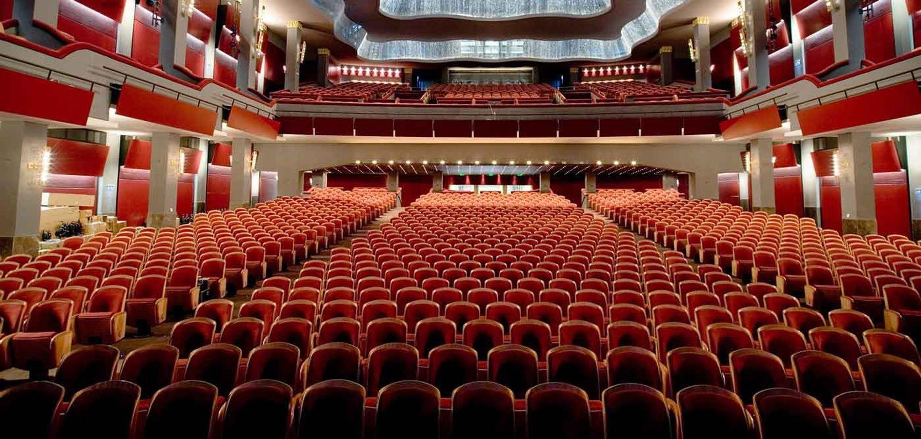 Pallas Cinema And Theatre Hall Athens Attica