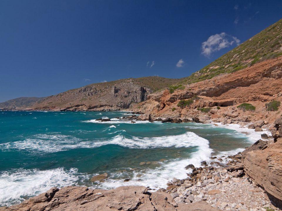 Platia, Amos, beach, Kythera