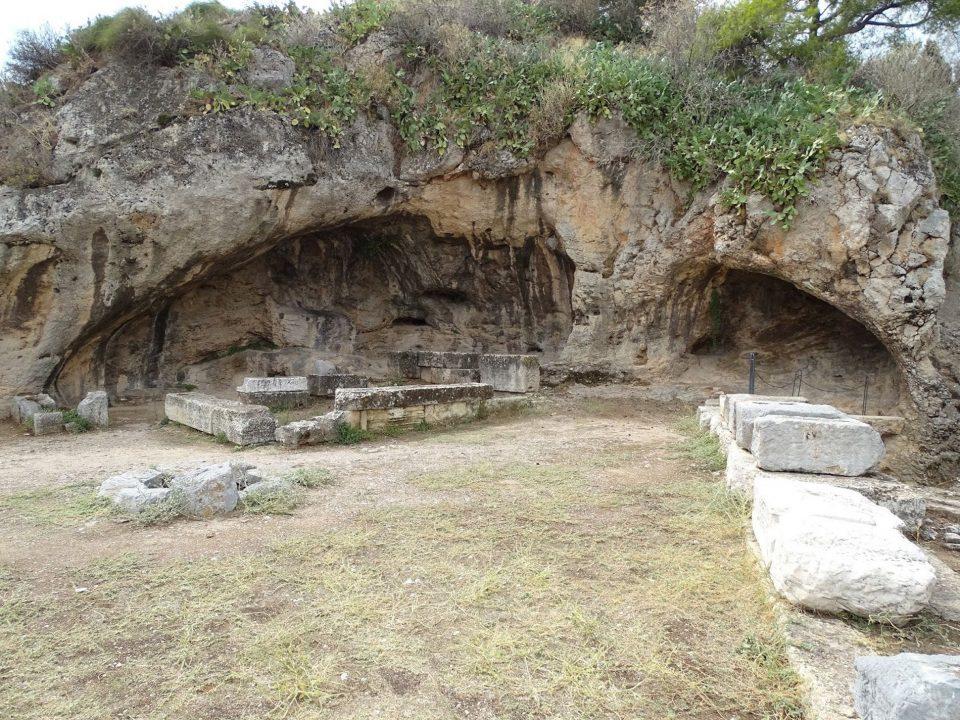 Πλουτώνιο, Σπήλαιο, Ελευσίνας