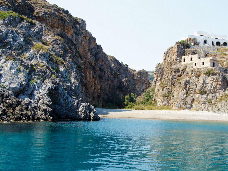 Sparayario, Beach, Kythera