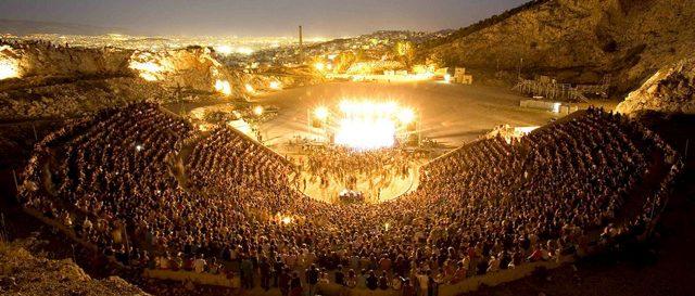 Petra, Theatre, Rock,
