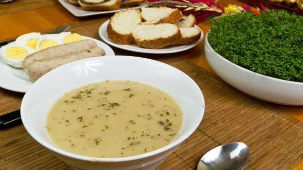 Mageiritsa, soup, Resurrection