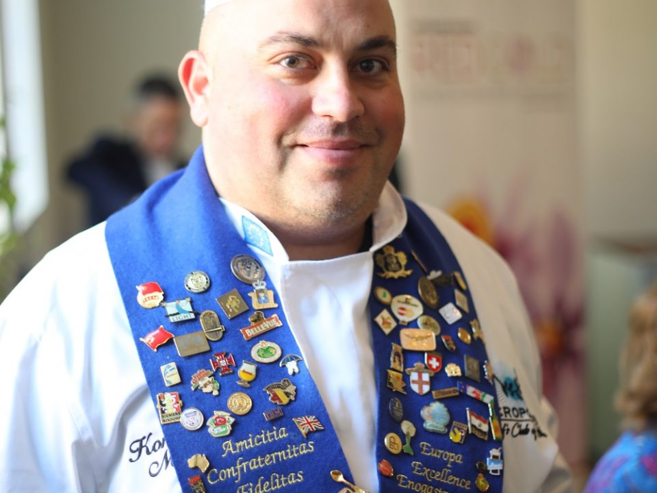 Chef Konstantinos Mouzakis