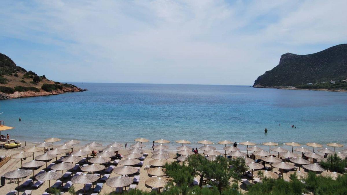 Rafina beach