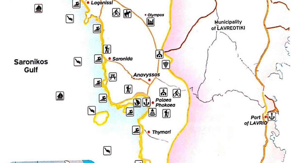 region-of-attica-municipality-of-saronicos-map